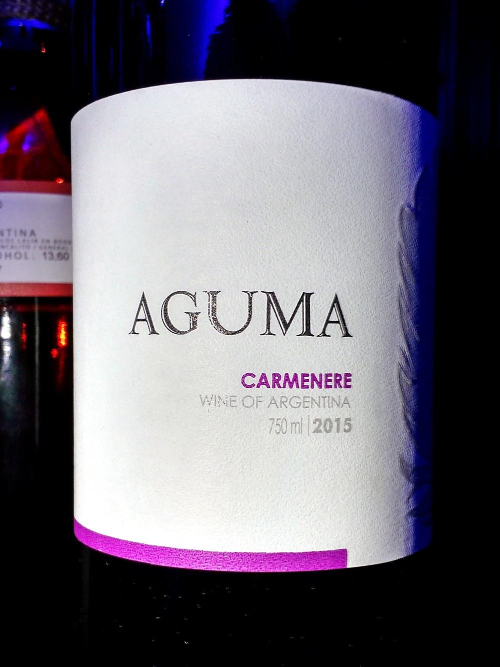 Aguma Carménère 2015