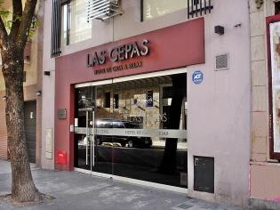 Hotel Las Cepas, en la calle México 1471 de Buenos Aires.